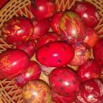 αβγά ζωγραφισμένα με κηρομπογιές