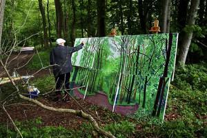 David-Hockney's-studio-–-Bedford-Corners-New-York-2