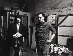Lucian Freud -Frank Auerbach