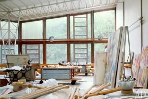 Willem-de-Kooning's-studio-–-East-Hampton-New-York-2