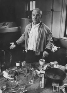 Willem de Kooning in his Studio (Atelier), NYC 1956. Photo by James Burke