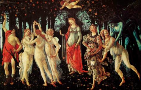 AllegoriadellaPrimaveraτουSandroBotticelli-1482
