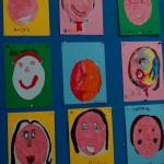 Ζωγραφίσαμε τα πρόσωπά μας
