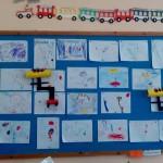 Παρατηρήσαμε το έργο του Μιρό και ζωγραφίσαμε