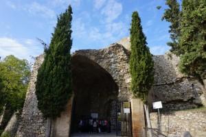 Στην είσοδο του Κάστρου