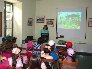 In the Center for Environmental Education, in Lavrio
