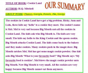 cookie summary