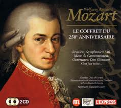 Mozart biography with pictures and music