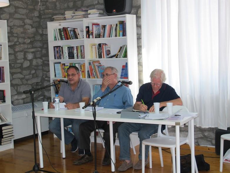 Θ. Κούγκουλος, Απ. Αθανασάκης, Γ. Μότσιος