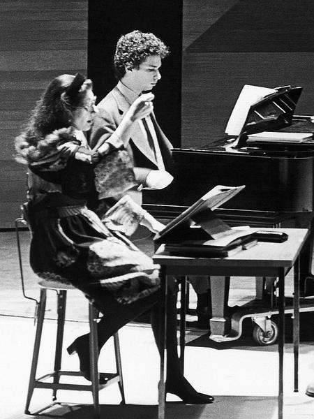 Ὁ Eugene Kohn μὲ τὴ Maria Callas.