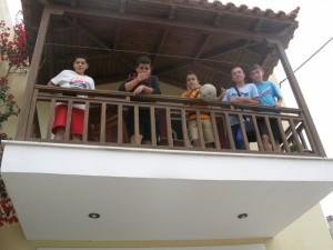 Στο ξενοδοχείο