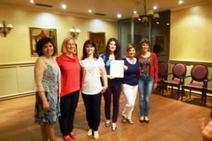The Romanian team