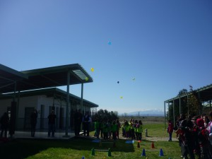 Στείλαμε το μήνυμα του Εθελοντισμού μέσα από τα πολύχρωμα μπαλόνια μας