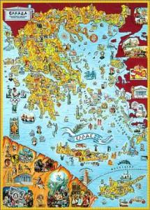 Πολιτιστικός Χάρτης της Ελλάδας
