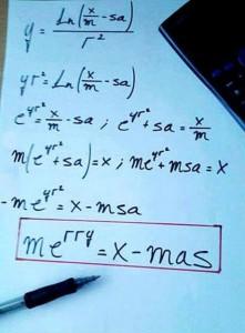 Christmas Maths
