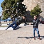 4.Κρητικός χορός έξω από τον Λευκό Πύργο