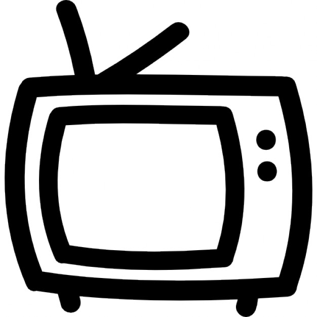 tv-hand-drawn-outline_318-52007