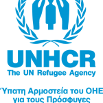 Logo_UNHCR Visibility logo_GREEK_CMYK light