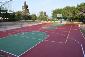 Το νέο γήπεδο του σχολείου