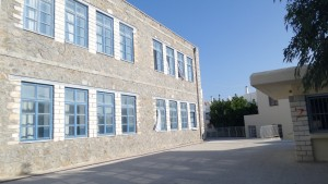 Η πίσω πλευρά του σχολείου μας!!