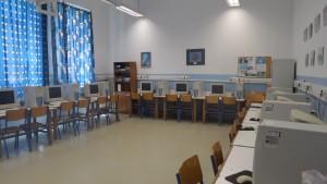 Το εργαστήριο Πληροφορικής