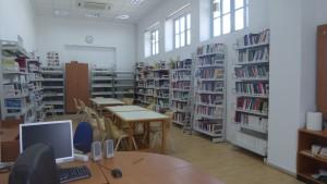 Ο χώρος της Βιβλιοθήκης ΕΠΕΑΕΚ