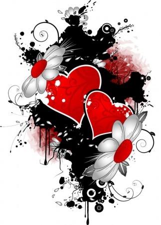 Παιχνίδι φαντασίας….Ένα γράμμα μια εικόνα... Love-vectors