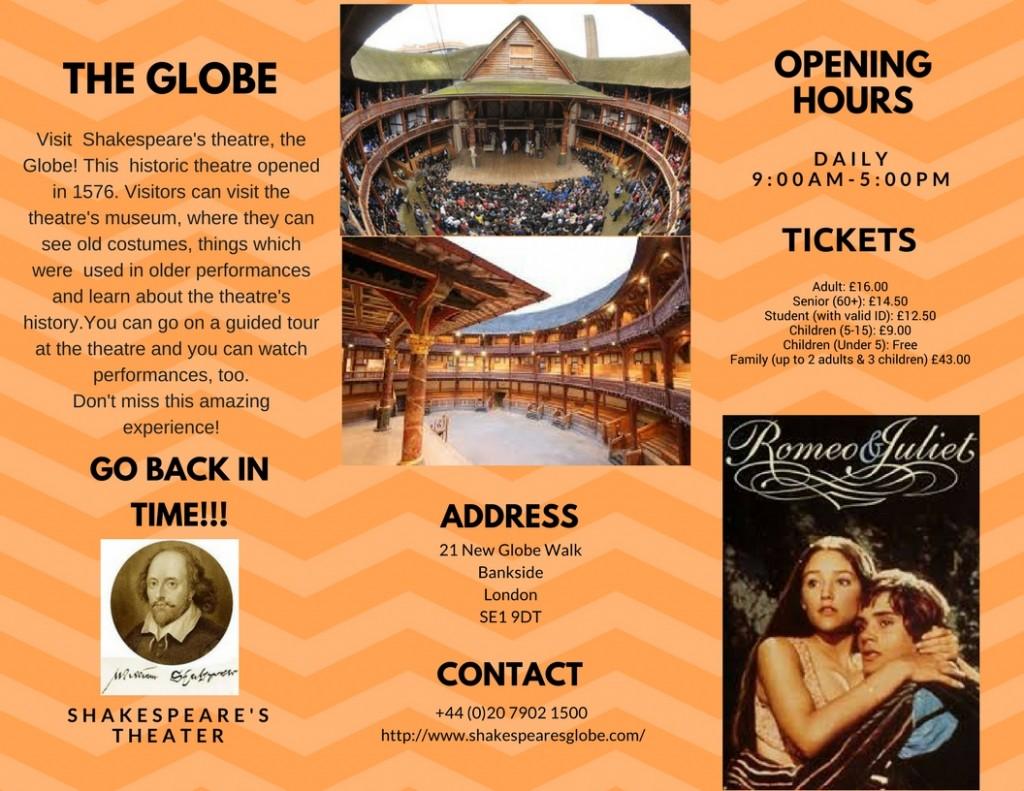 The Globe brochure2