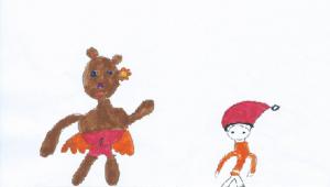 Αρκουδίτσα και νάνος
