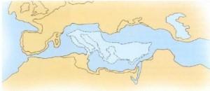 Η Αρχέγονη Μεσόγειος 65 εκατ. Xρόνια πριν (Mojetta 1996)