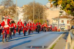 Santa Bike_ποδηλατοβόλτα 1