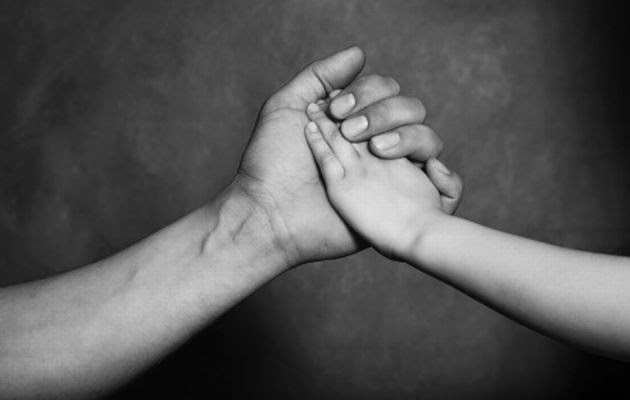 father-son-hand