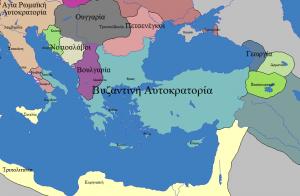 Νέο κράτος Βουλγάρων το 1014 μ.Χ. στην περιοχή της Αχρίδας (Οχρίδας) με Σαμουήλ