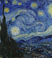 «Η έναστρη νύχτα» Van Gogh (Interactive animation)