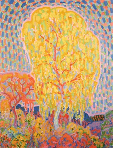 Autumn tree του Leo Gestel (1881-1941)