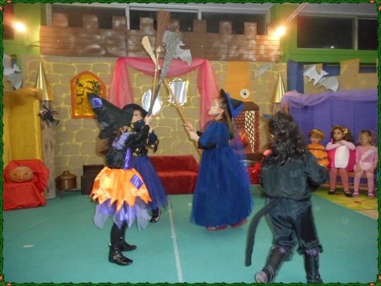 Ο χορός των μαγισσών...