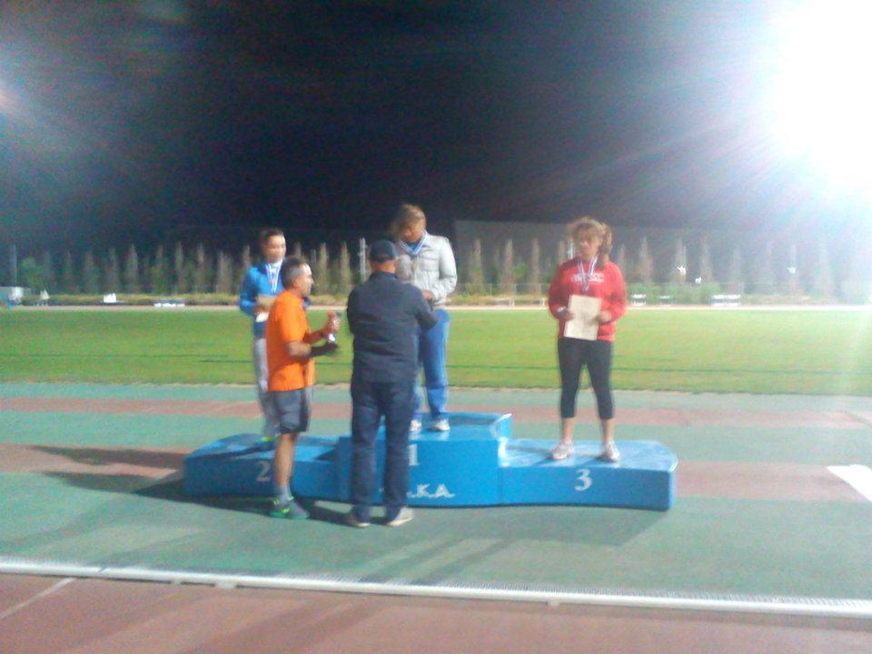Χρυσό μετάλλιο στην Ελευθερία Τερζάκη στη σφαιροβολία με επίδοση 12,70μ