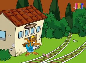 Οι γραμμές του τρένου - Σύγκριση και διάταξη αριθμών 0 - 10