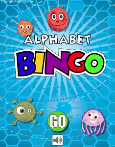 alphabet bingo