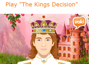 The King's decision