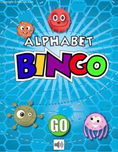 alhpabet bingo