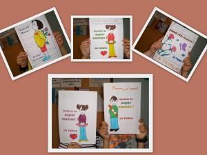 Fête des mères - Collage
