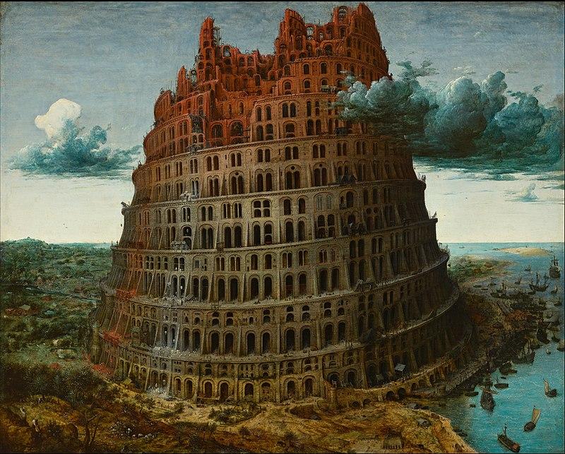 800px-Pieter_Bruegel_the_Elder_-_The_Tower_of_Babel_(Rotterdam)_-_Google_Art_Project