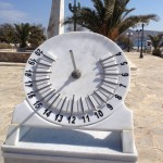 Το Ηλιακό Ρολόι στην Ερμούπολη.