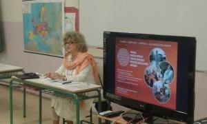 ΣΔΕ Κέρκυρας:  Ομιλία της κα. Σοφί Αντρέ, εισαγωγή - μύηση στη γιόγκα nidra, τις τεχνικές αναπνοής και χαλάρωσης του νου