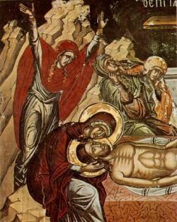 Ο θρήνος της Παναγίας