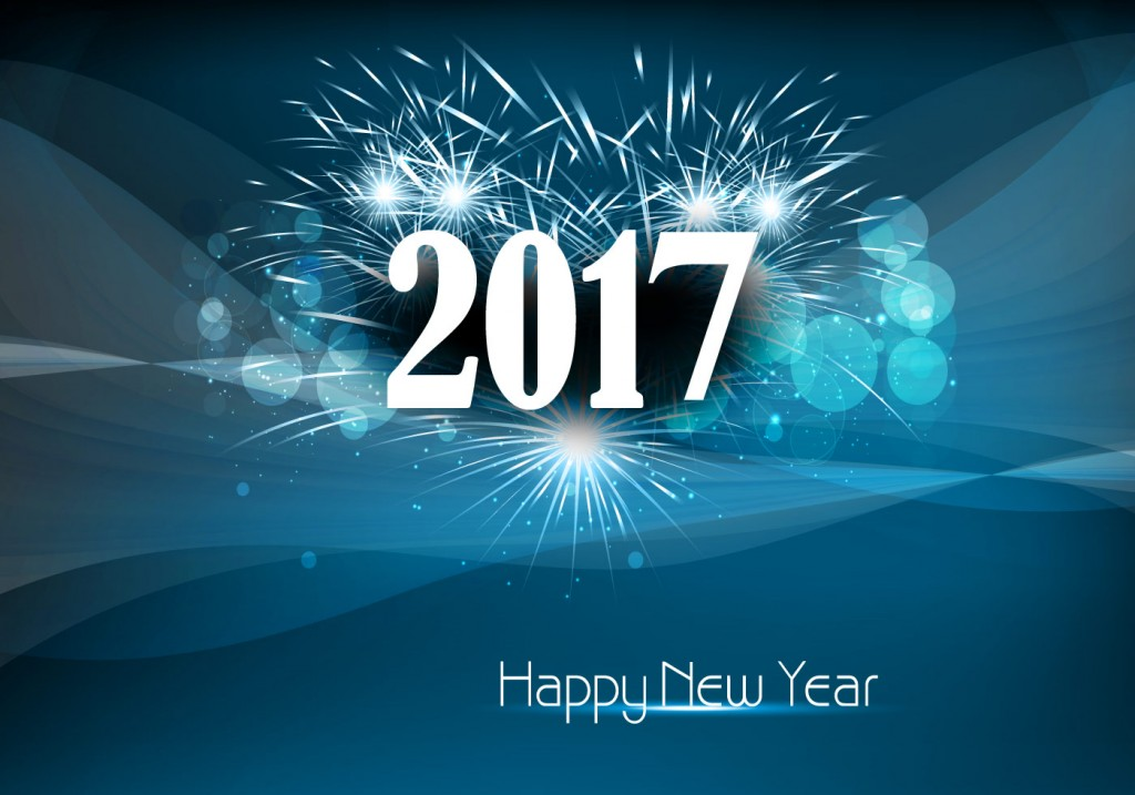 vector-happy-new-year-2017-with-fire-cracker