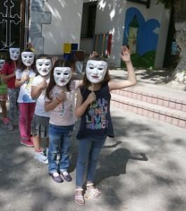 Μάσκες- Μαρότες για τον Χορό