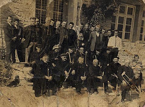 Χορηγοί του Δημοτικού Σχολείου Αιανής το 1958