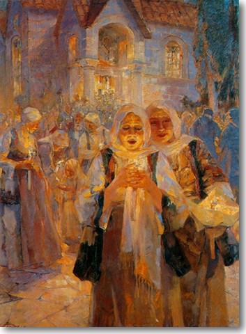 Αργυρός Ουμβέρτος-Ανάσταση, περ. 1932